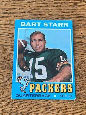 1971 Topps Football #200 Bart Starr