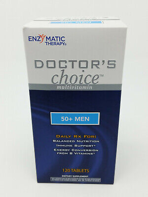 Enzymatic Therapy Doctor's Choice 50+ Men Multi-Vitamin 120 -
