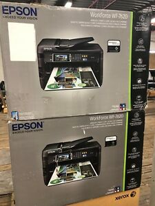Epson, workforce WF-7620 wireless printer/copy/scanner/fax