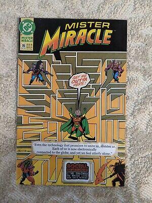 Mister Miracle #15, mixed media, original art, FREE SHIPPING 👌