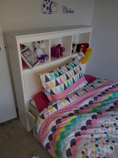 King single bed and draws