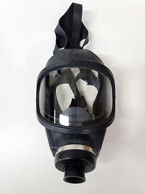 Msa Ultravue Single Port Full Face Gas Mask Air Purifying Respirator Medium