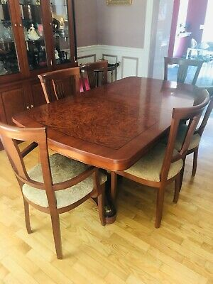 Neoclassical Biedermeier Dining Room Table (Seats 8+)