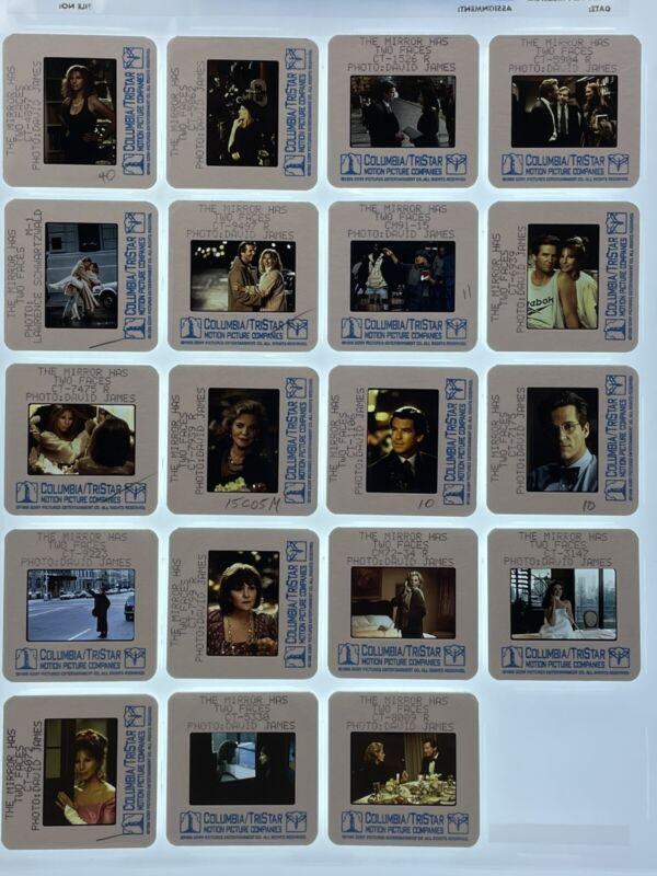 19 The Mirror Has Two Faces Movie 35mm Slides Barbra Streisand Promo Lot #2