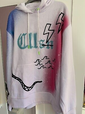 Collusion X Everyone Together Hoodie M 12-14 ASOS missguided Jaded London