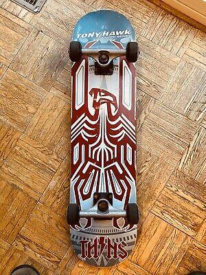"Tony Hawk 31"" Huckjam Series Skateboard w/ Skulls USED"