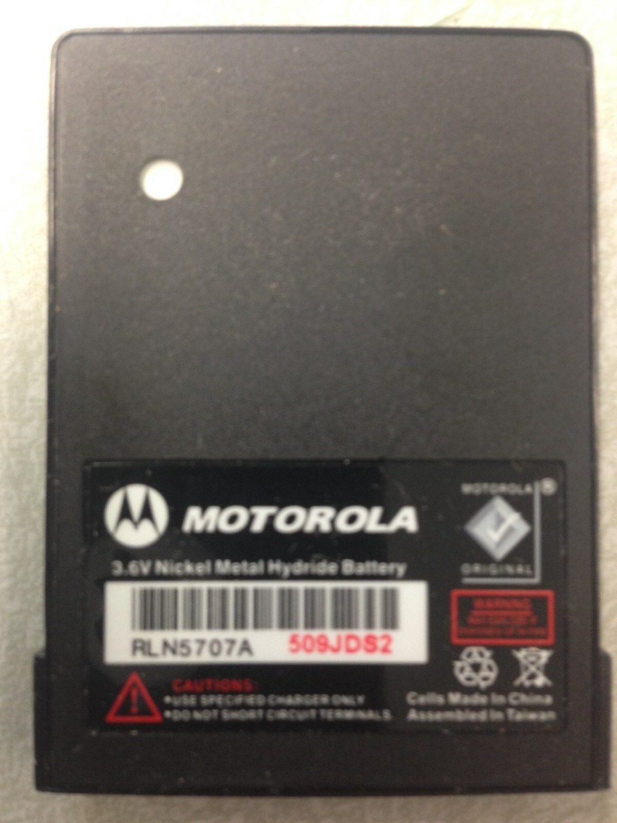Newoem Motorola Minitor V 5 Pager Battery RLN5707 RLN5707...