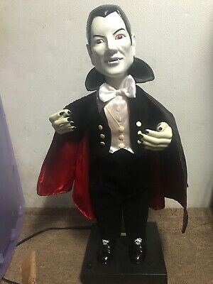 DRACULA ANIMATED UNIVERSAL STUDIOS MOTION-ETTE, EXCELLENT COND. W/BOX TELCO 1992 (Telco Halloween)