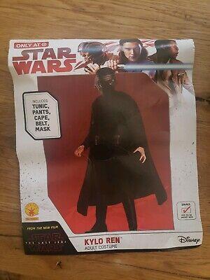 Star Wars ~ KYLO REN ~ Halloween Costume ~ Men's S Small  ~ NEW