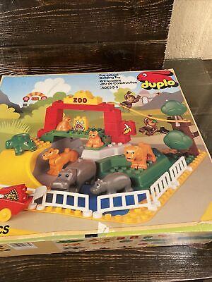 Rare Vintage LEGO 2668 Duplo Children's Zoo Animals w/ Raised Baseplate