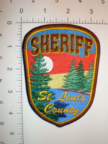 "MN Minnesota St Louis County Sheriff Police SHIRT 4.5"" tall patch"