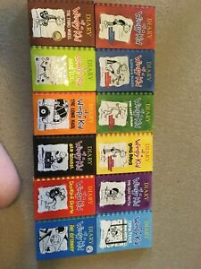 Diary of a Wimpy Kid Series all hardcover