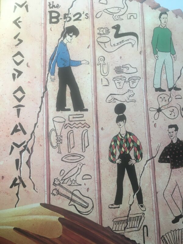 The B-52's Mesopotamia Poster Rare Promo 1982