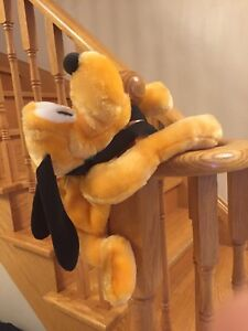 RARE DISNEY PLUTO DOG PLUSH BACKPACK BAG for Child