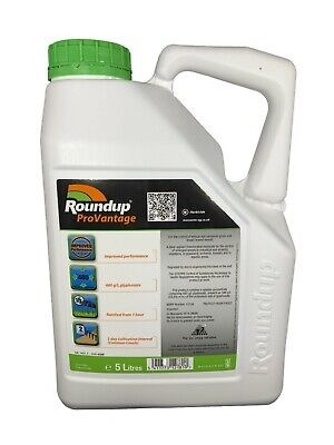 1 x5L ROUNDUP PRO VANTAGE 480g/l STRONGEST WEED KILLER AVAILABLE ON THE MARKET