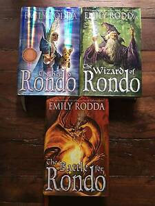 Rondo Series by Emily Rodda, hardcover, secondhand Berowra Heights Hornsby Area Preview