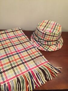 Coach hat and scarf set-Rare, vintage, excellent new condition!