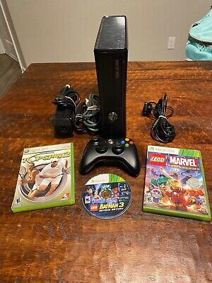 Xbox 360 Console Limited Edition 4GB With 3 Games FastShip With Games