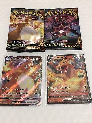 Pokemon Charizard V & Charizard VMAX - Darkness Ablaze 20/189 19/189