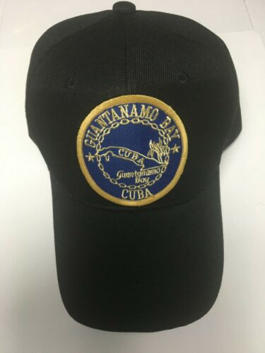 US FORCES GUANTANAMO BAY CUBA MILITARY HAT / CAP