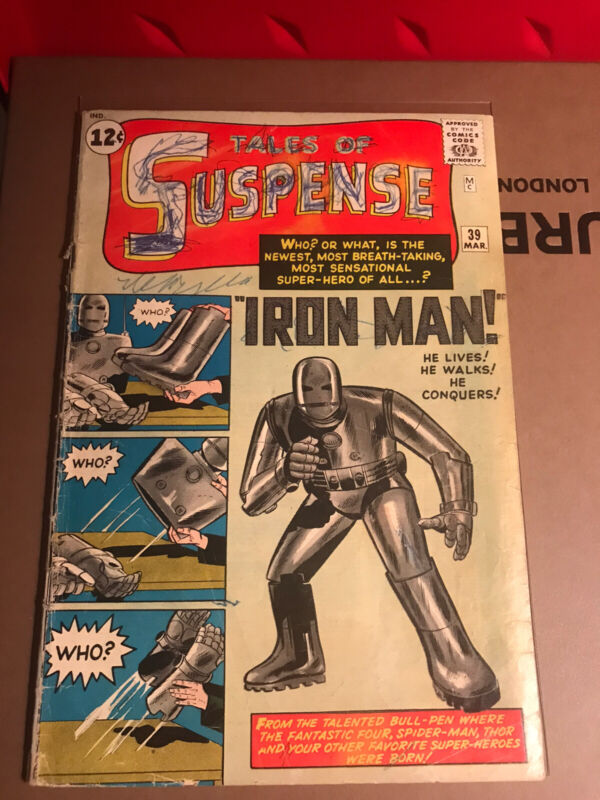 tales of suspense 39 First Iron Man