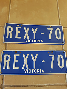 Custom plates  vic reg Hastings Mornington Peninsula Preview