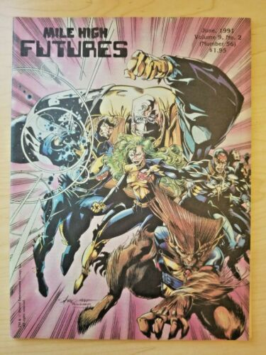 Mile High Futures magazine catalog / orderbook - #56 / June 1991 Marvel X-Factor