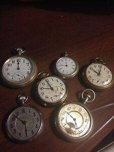 Lot of Antique Pocket watches