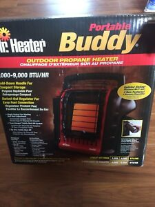 New portable buddy Mr.Heater