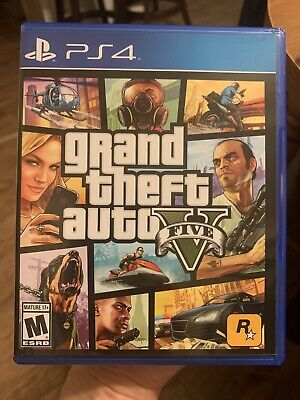 Sony Playstation 4 Grand Theft Auto V 5 Video Game PS4