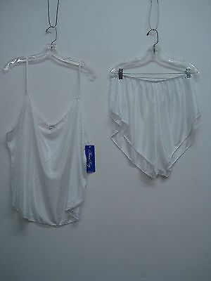 USA Made Nancy King Lingerie Baby Doll w/ Tap Pant Sleepwear 3X White #709Q](Adult Baby Lingerie)
