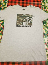 MTV Music Television Short Sleeve Toddler Tee Shirt Navy Cow on Farm Size 2T NWT