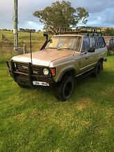 1985 Toyota LandCruiser HJ60 Huon Indigo Area Preview