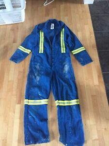 Fire rated coveralls size large regular
