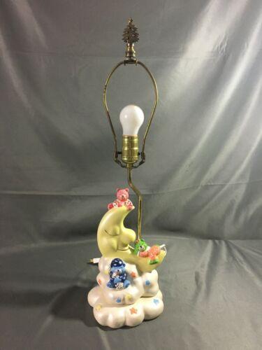 Vintage 1983 Care Bears Inspired Lamp Music Box