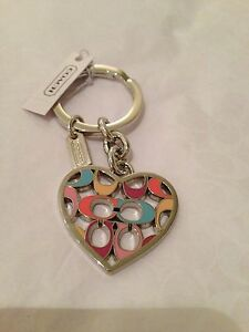 Coach Key Ring Key Chain Key Fob F62725,F93094,F64507,F64380,F66398