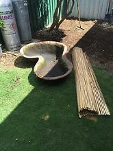 Pond, bamboo screen and planter box. Group buy. Clarence Park Unley Area Preview