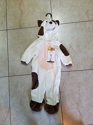 Plush Dog Infant Toddler12-24 Months Boy/girl Halloween Costume Jumpsuit Puppy - Girl Puppy Halloween Costume