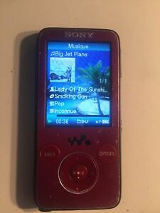 SONY DIGITAL MEDIA PLAYER NWZ-S638F  8G