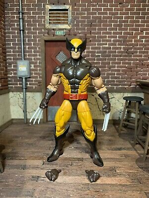 MARVEL LEGENDS WOLVERINE BROWN COSTUME X-MEN JUGGERNAUT WAVE 100% COMPLETE