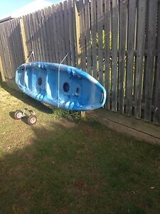 2 seater kayak + wheels Coomera Gold Coast North Preview