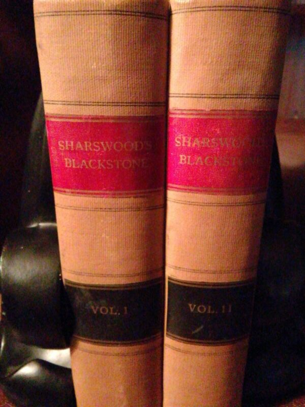 Blackstone Commentaries on the Law
