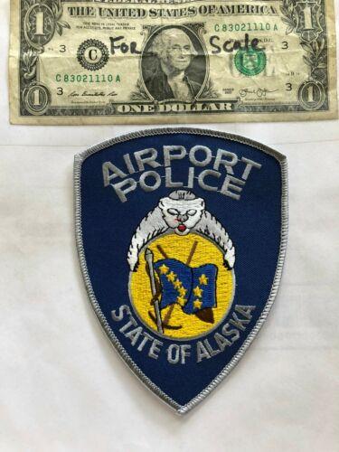 Airport Police Alaska Police Patch Un-sewn great shape