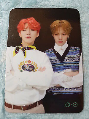 MONSTA X 2nd Album ARE YOU THERE Shoot Out Unit Type-1 Photo Card K-POP 20