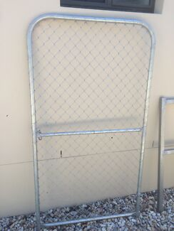 Galvanised chain wire gate Oxley Tuggeranong Preview
