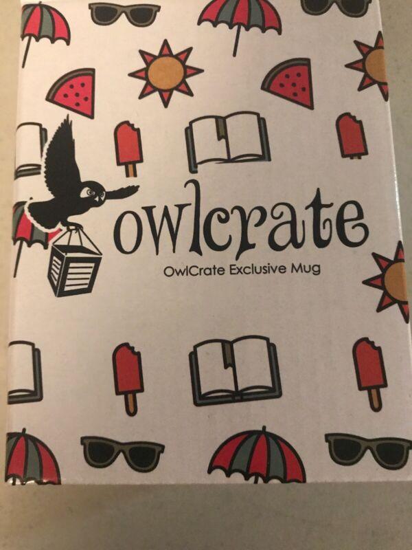 Owlcrate Exclusive Bookworm Mason Jar Mug