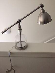 Cute, industrial lamp!