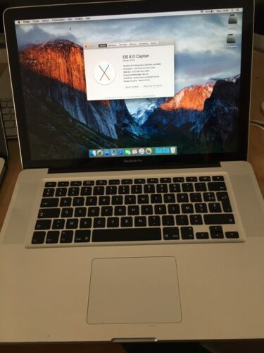 Macbook pro a1286 2009