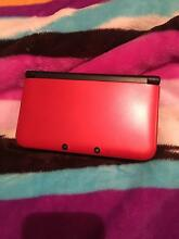 Nintendo 3DS XL Red near perfect condition Lakemba Canterbury Area Preview