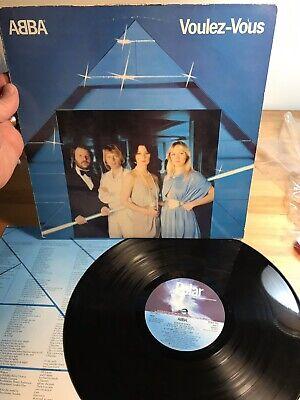 ABBA Voulez Vous Polar Album Record Vinyl